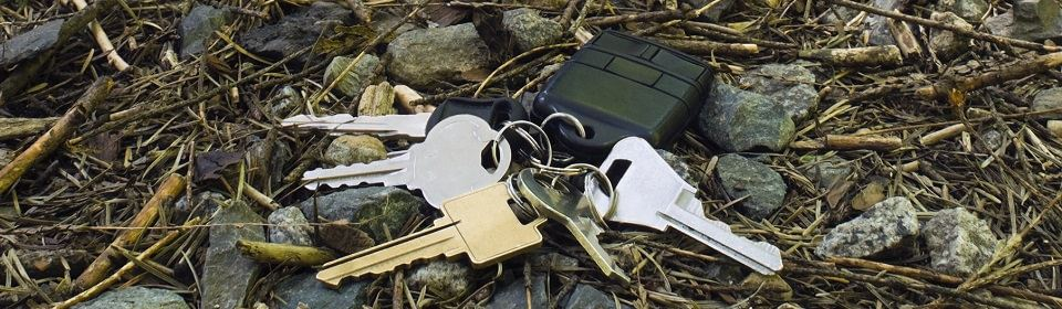 sleutels verloren